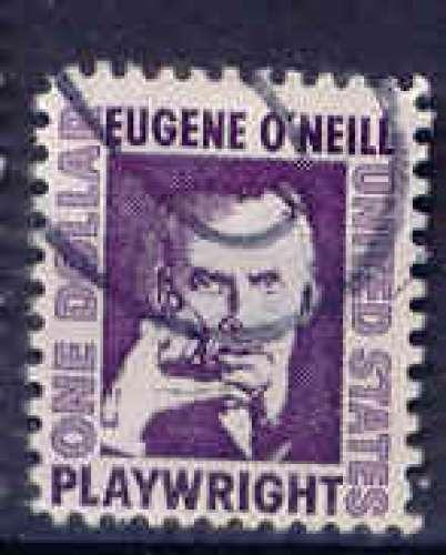 Etats Unis 1967 YT 825 Obl Ecrivain Eugene O'Neill