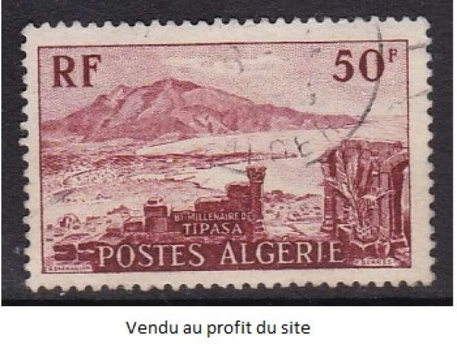TIMBRE OBLITERE D'ALGERIE - BIMILLENAIRE DE TIPASA N° Y&T 327