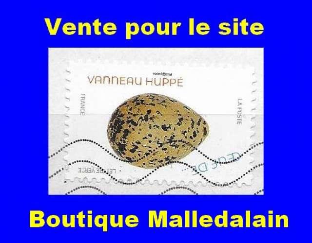 FRANCE - Oblitéré sur fragment - AA 1850 Œufs d'oiseaux Vanneau huppé - TCA 130