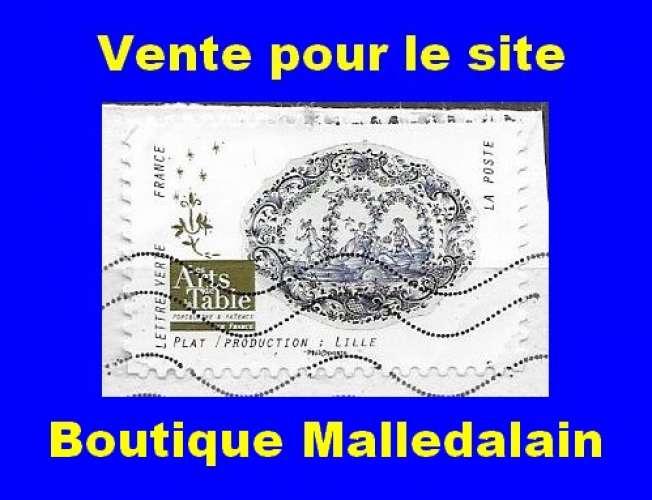 FRANCE - Oblitéré sur fragment - AA 1529 Plat  Production : Lille - TCA 134