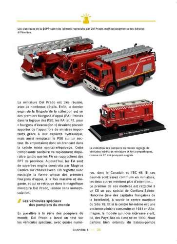 Les miniatures de pompiers par Grégory SCHMAUCH aux éditions Carlo Aglia