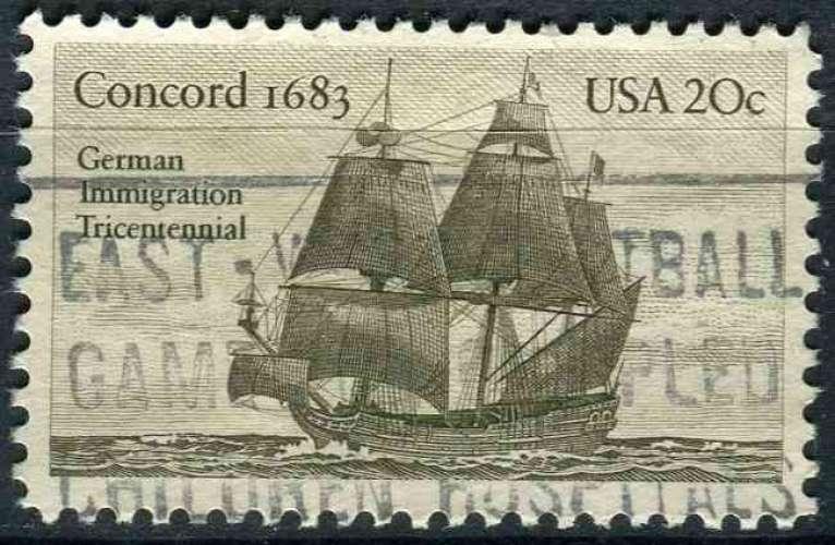 ETATS UNIS 1983 oblitéré N° 1474