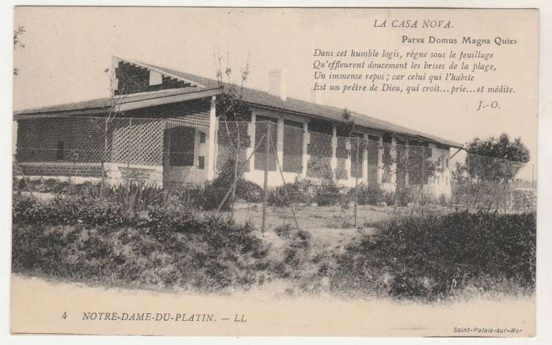 cpa 17 ( Saint-Palais-sur-Mer ) Notre-Dame du-Plantin Casa Nova