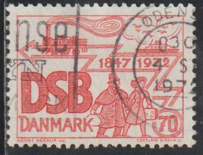 DANEMARK 1971 -  Y&T N° 537
