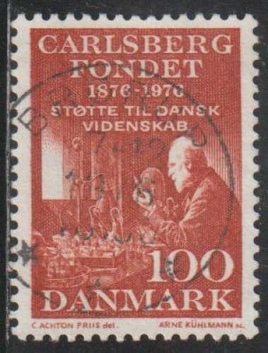 DANEMARK 1976 -  Y&T N° 631