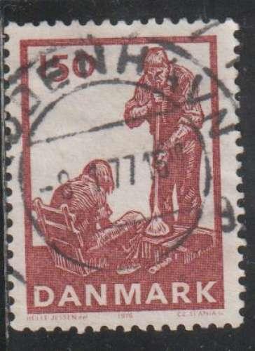 DANEMARK 1976 -  Y&T N° 635