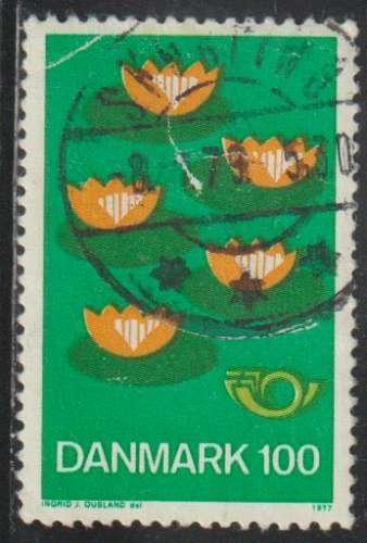 DANEMARK 1977 -  Y&T N° 636