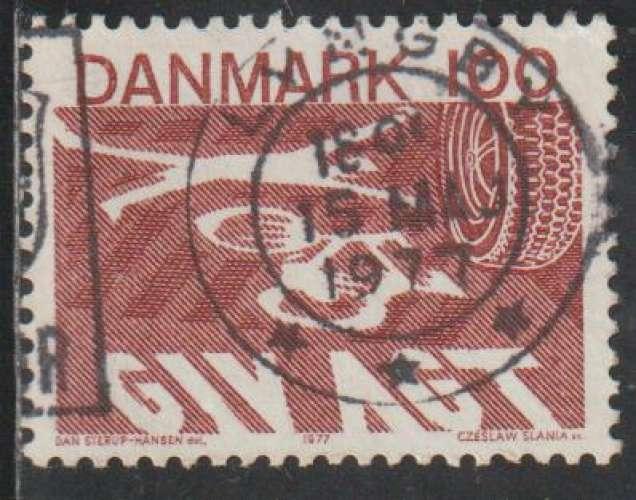 DANEMARK 1977 -  Y&T N° 638