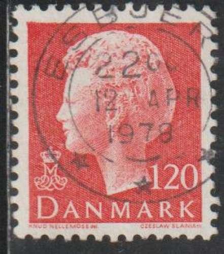 DANEMARK 1977 -  Y&T N° 651