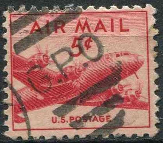 ETATS UNIS 1947 oblitéré Poste aérienne N° 34