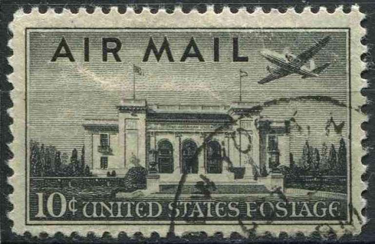 ETATS UNIS 1947 oblitéré Poste aérienne N° 36