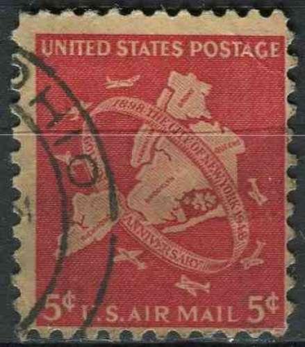 ETATS UNIS 1948 oblitéré Poste aérienne N° 39