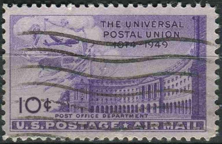 ETATS UNIS 1949 oblitéré Poste aérienne N° 41