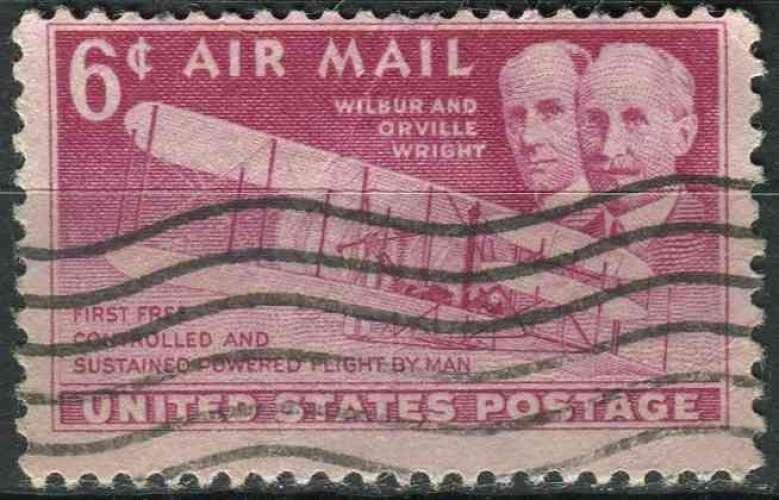 ETATS UNIS 1949 oblitéré Poste aérienne N° 44