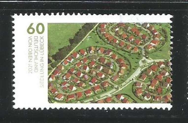 RFA 2020 - YT n° 3358 - Vue de ville