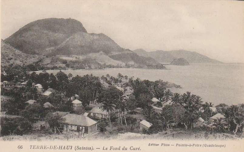 Guadeloupe - Terre de Haut (Saintes) - Le fond du curé