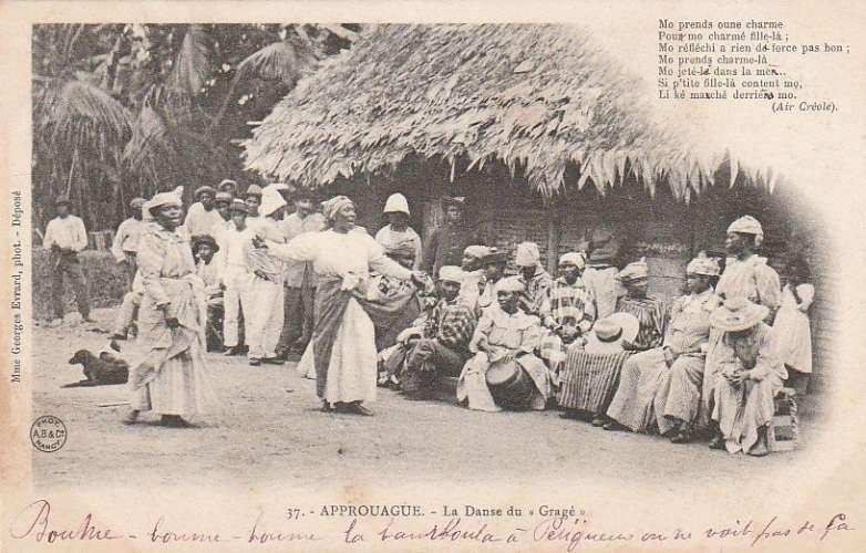 Guyane Française - Approuague - La danse du