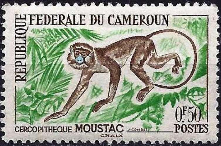 Cameroun 1962 - YT 339 - Singe : Cercopithèque - MNH**