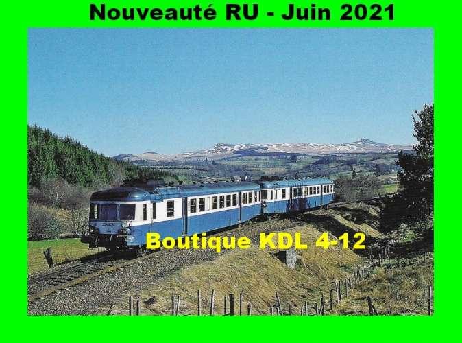 *RU 1875 à 1924 - Série de 50 CPM - Les trains du Massif Central
