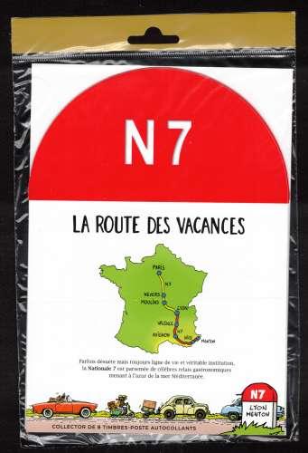 France 2021 bloc feuillet Y&T **  Nationale 7 Sud sous blister