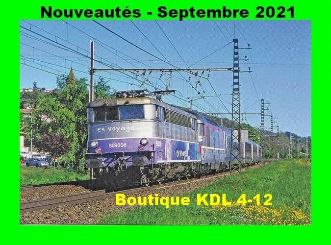 *ACACF 688 à 703 - Lot de 16 cartes postales ferroviaires - Les BB MTE
