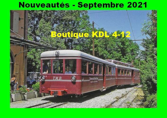 *ACACF 704 à 719 - Lot de 16 cartes postales ferroviaires - Chemin de Fer à voie métrique