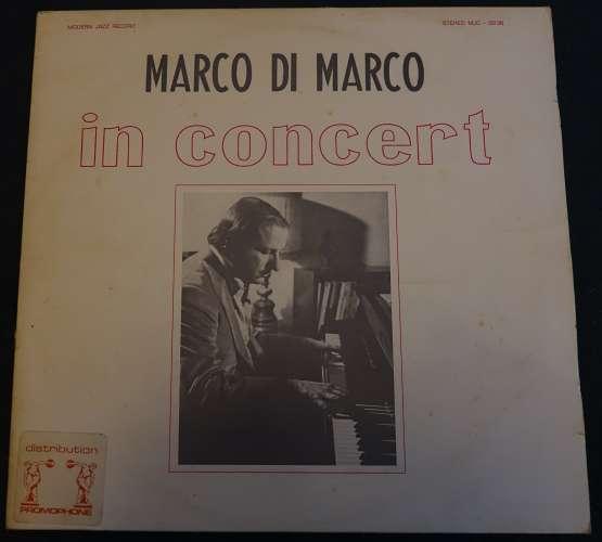 Italy 1977 Vinyl LP Album Marco di Marco in concert Modern Jazz record stereo MJC- 0236