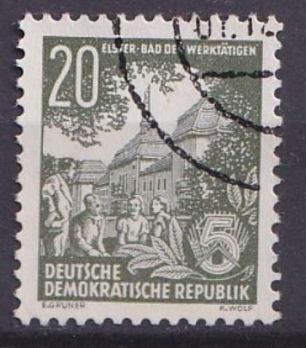 Allemagne 1954 Y&T 154A oblitéré