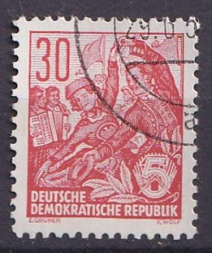 Allemagne 1954 Y&T 157 oblitéré