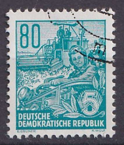 Allemagne 1954 Y&T 161 oblitéré