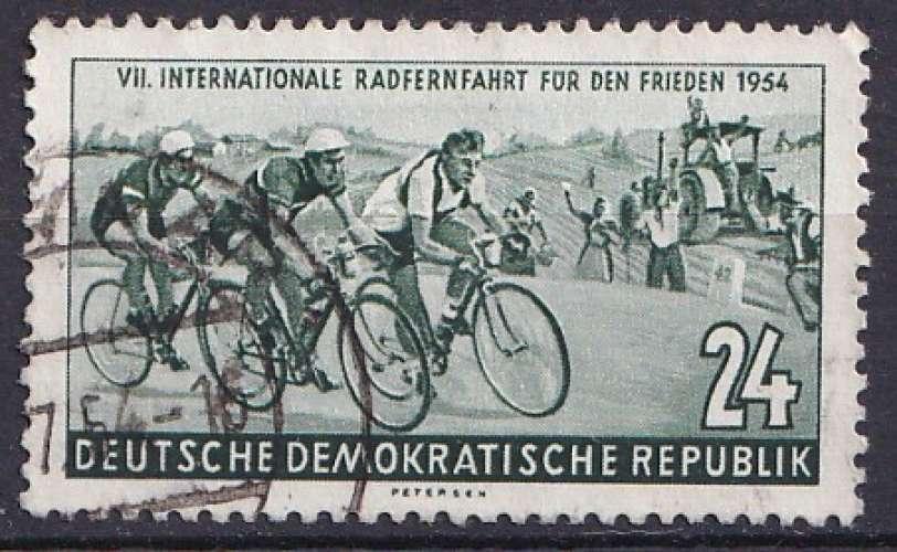 Allemagne 1954 Y&T 165 oblitéré - Cyclisme