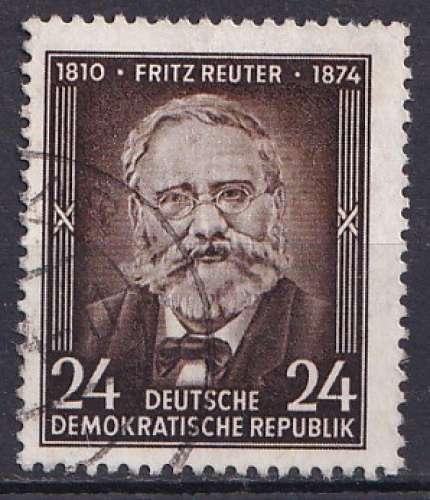 Allemagne 1954 Y&T 168 oblitéré - Fritz Reuter