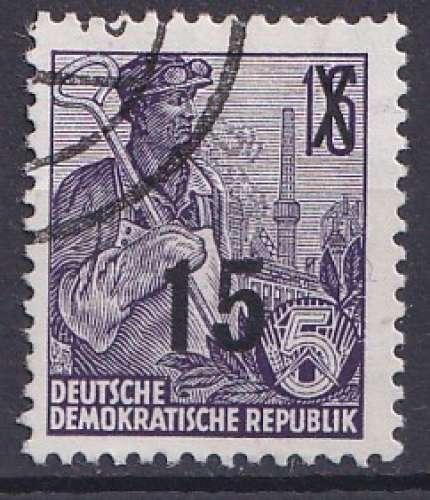 Allemagne 1954 Y&T 179 oblitéré /// accro844