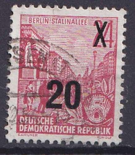 Allemagne 1954 Y&T 180 oblitéré