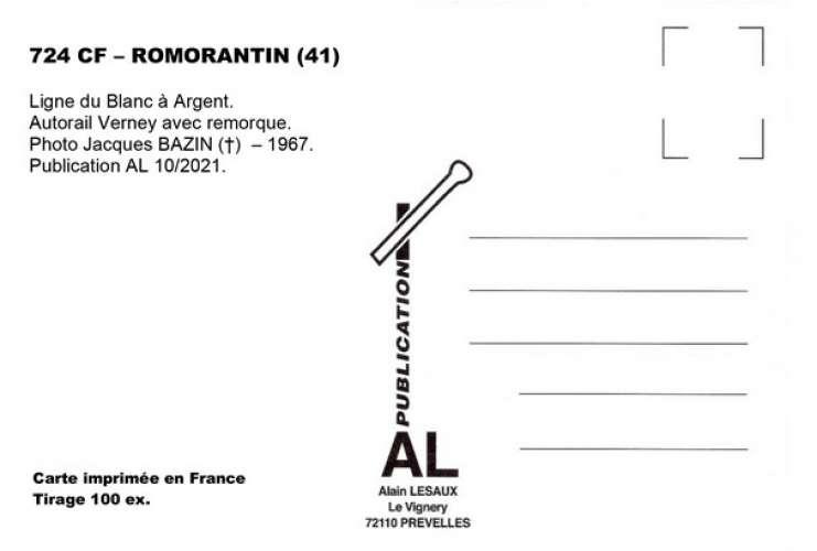 *AL CF 716 à 743 PR 11 et 12 - Lot de 30 cartes postales ferroviaires - Région 4 - VM et VE