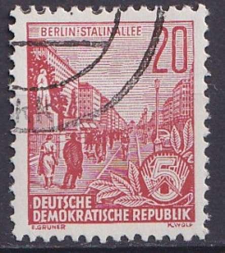 Allemagne 1955 Y&T 191 oblitéré
