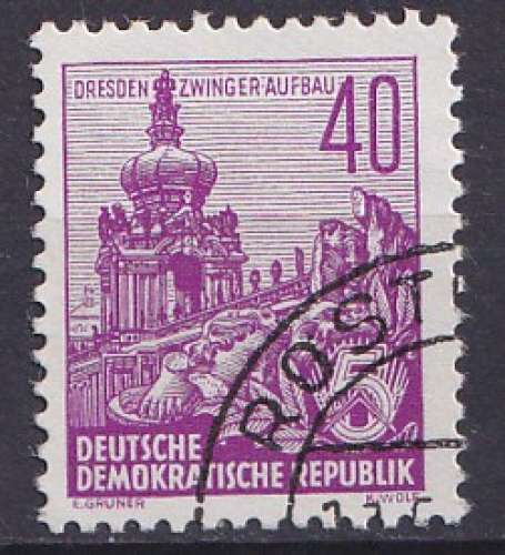 Allemagne 1955 Y&T 192 oblitéré