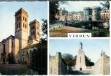 miniature cpsm 55 Verdun , ww1 , multivues , écrite 1963