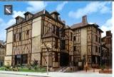 miniature cpsm 10 Troyes , maison champenoise , voyagée