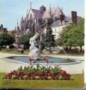 miniature cpsm 10 Troyes , jardin de la préfecture , voyagée