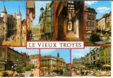 miniature Cp 10 Troyes - multivues le vieux Troyes