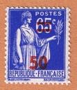 France -  Y&T 479 ** - Paix - 50 sur 65 c outremer