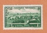 miniature France -  Y&T 469 ** - Secours national - élevage