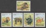 miniature SERIE NEUVE DU BENIN - FAUNE AFRICAINE N° Y&T 708Z à 708AD