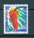 miniature Comores 16 1959 Flore neuf avec trace de charnière* TB MH  cote** 6