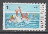 miniature TIMBRE NEUF DE ROUMANIE - WATER-POLO N° Y&T 3457