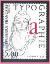 miniature France oblitéré Yvert N°2407 Typographie 1986