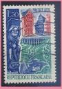 miniature France oblitéré Yvert N°1505 MORLAIX 1966