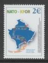 miniature TIMBRE NEUF DES NATIONS UNIES KOSOVO - 5 ANS DE PRESENCE DES TROUPES DE LA KFOR AU KOSOVO N° 19