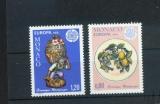 miniature Monaco 1062 1063 1976 1/4 de cote Europa céramiques neuf ** TB MNH sin charnela cote 3.1